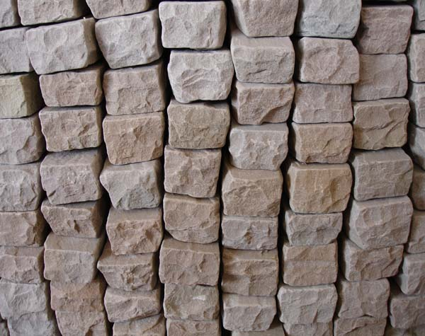 Autumn Brown (Sandstone) Vibrated walling Stones