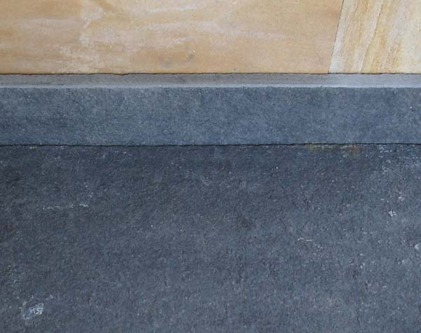Black Limestone Skirting